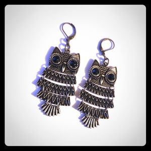 🦉Bronze Owl Earrings🦉